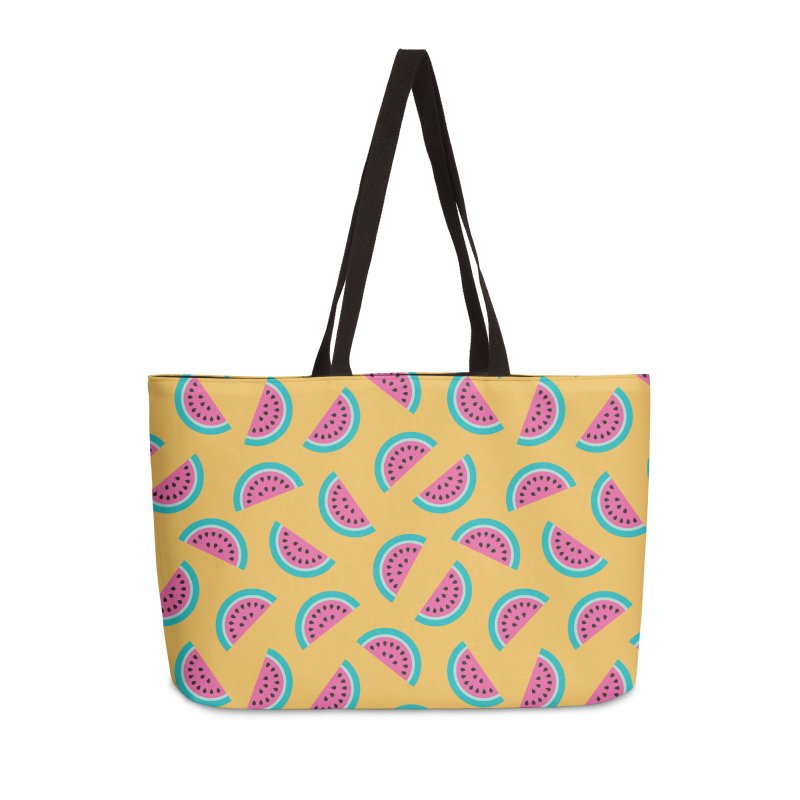 Summer Watermelon Pattern Accessories Weekender Bag Bag by abstractocreate's Artist Shop