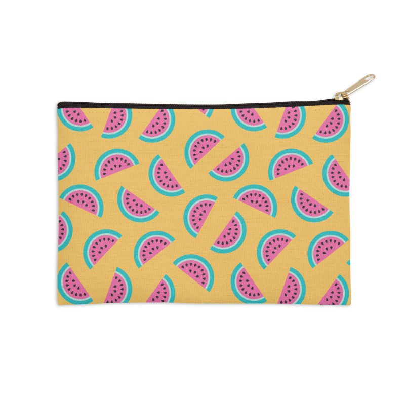 Summer Watermelon Pattern Accessories Zip Pouch by abstractocreate's Artist Shop