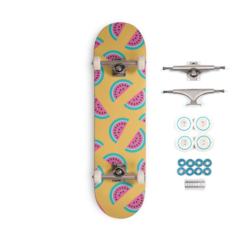 Summer Watermelon Pattern Accessories Complete - Basic Skateboard by abstractocreate's Artist Shop