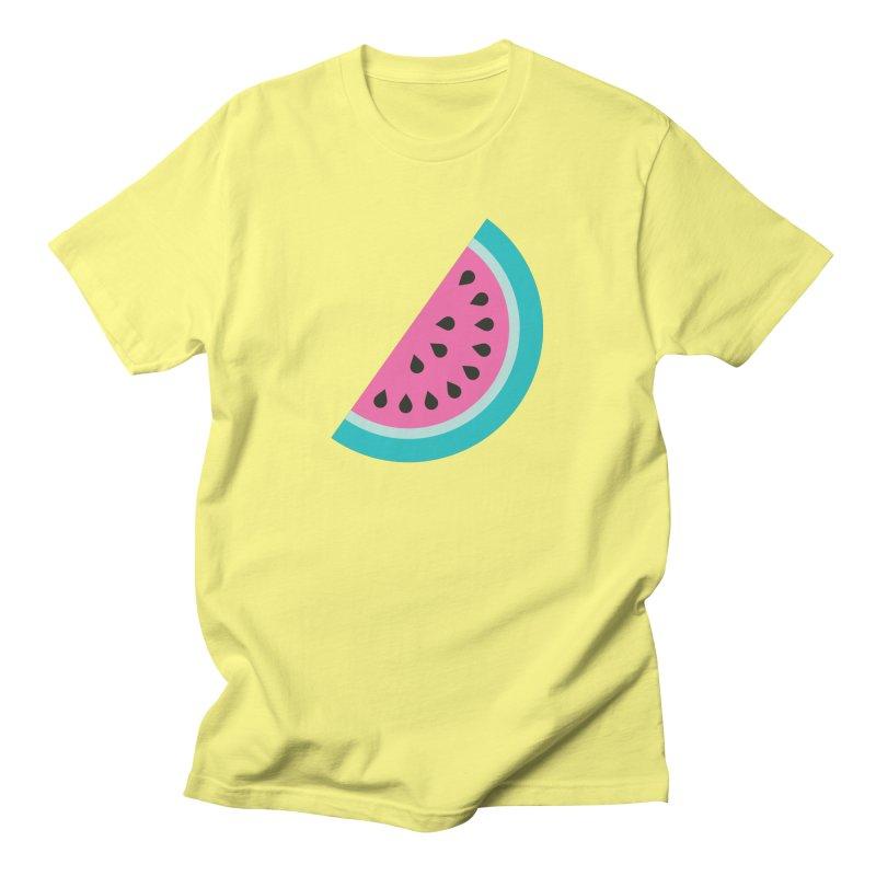Summer Watermelon Pattern Men's T-Shirt by abstractocreate's Artist Shop