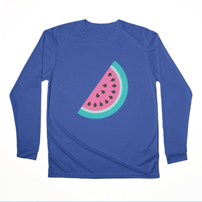 Summer Watermelon Pattern Women's Performance Unisex Longsleeve T-Shirt by abstractocreate's Artist Shop