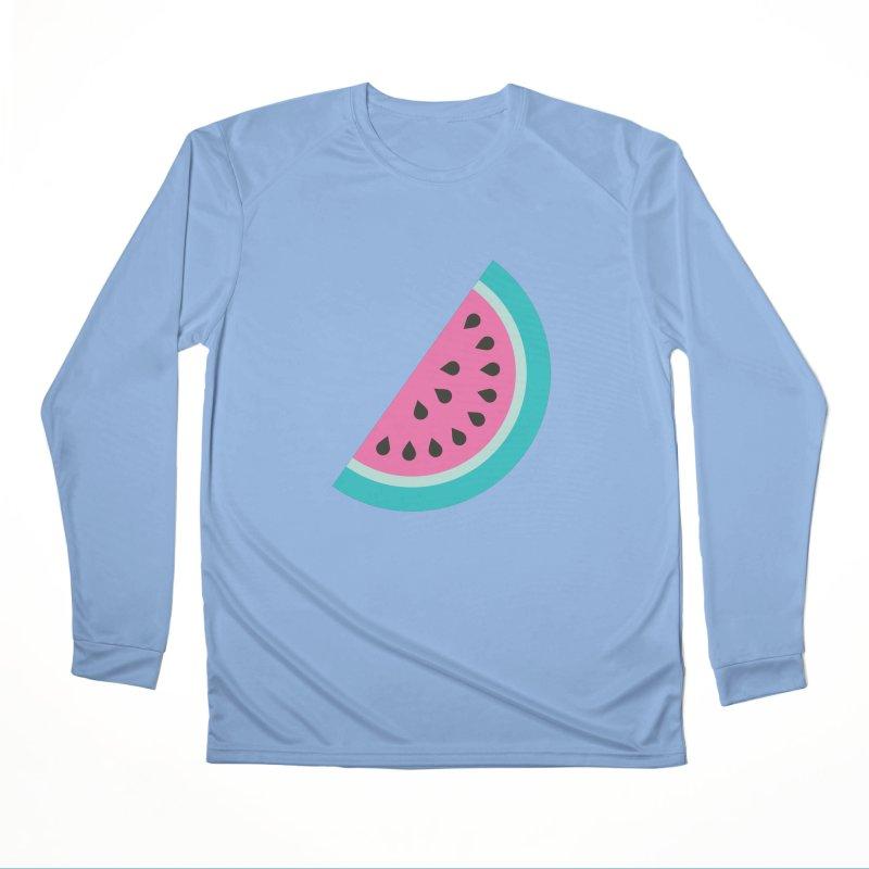 Summer Watermelon Pattern Women's Performance Unisex Longsleeve T-Shirt by abstractocreate's Artist Shop