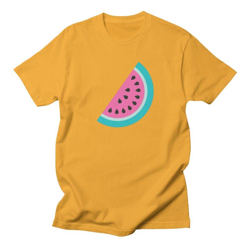 Summer Watermelon Pattern Women's Regular Unisex T-Shirt by abstractocreate's Artist Shop