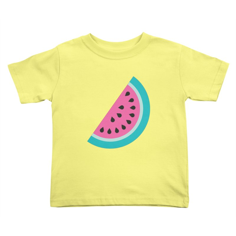 Summer Watermelon Pattern Kids Toddler T-Shirt by abstractocreate's Artist Shop