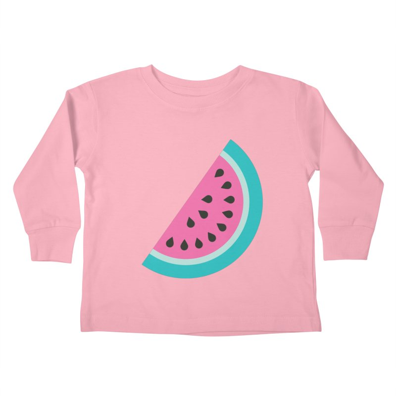 Summer Watermelon Pattern Kids Toddler Longsleeve T-Shirt by abstractocreate's Artist Shop