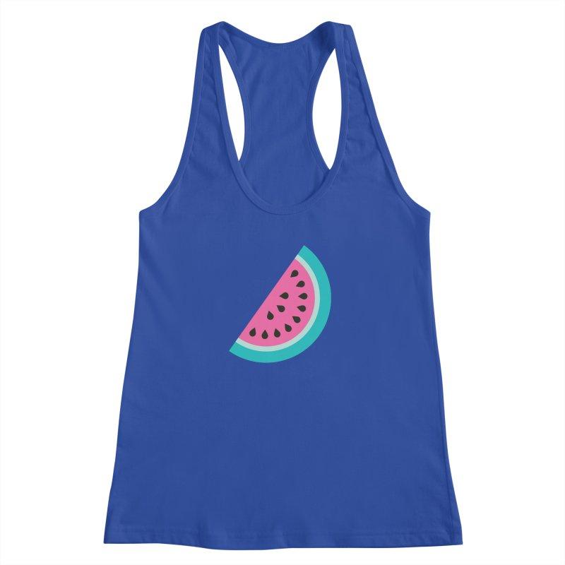 Summer Watermelon Pattern Women's Racerback Tank by abstractocreate's Artist Shop