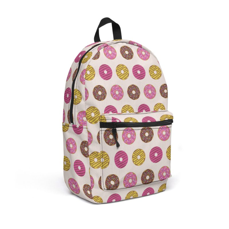 Sweet Donuts Pattern Accessories Backpack Bag by abstractocreate's Artist Shop