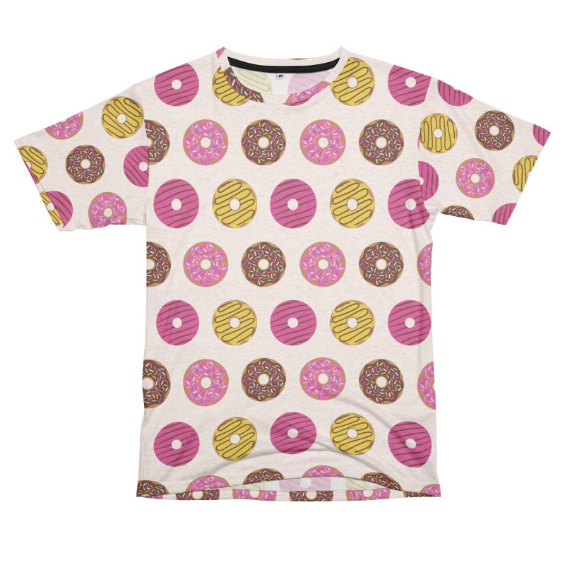 Sweet Donuts Pattern Women's Unisex French Terry T-Shirt Cut & Sew by abstractocreate's Artist Shop