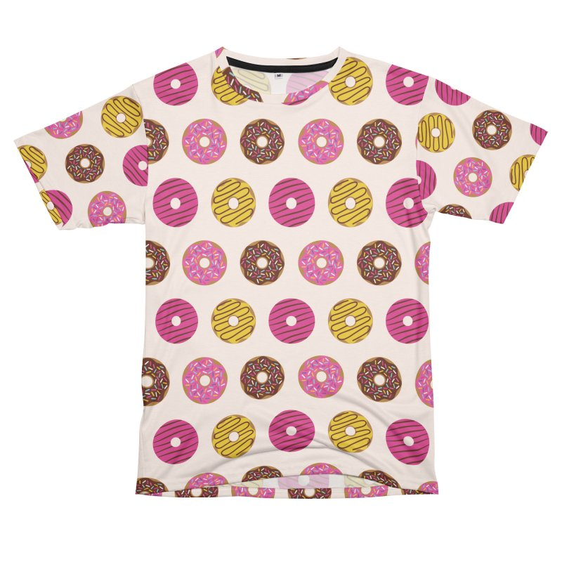 Sweet Donuts Pattern Women's Unisex T-Shirt Cut & Sew by abstractocreate's Artist Shop