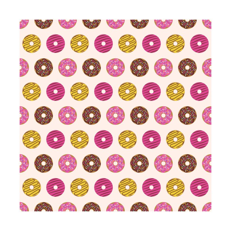 Sweet Donuts Pattern Home Bath Mat by abstractocreate's Artist Shop