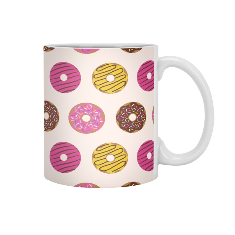 Sweet Donuts Pattern Accessories Mug by abstractocreate's Artist Shop