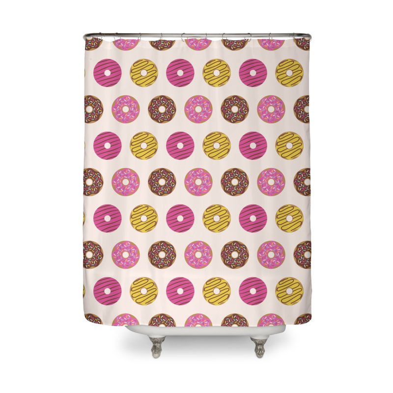 Sweet Donuts Pattern Home Shower Curtain by abstractocreate's Artist Shop