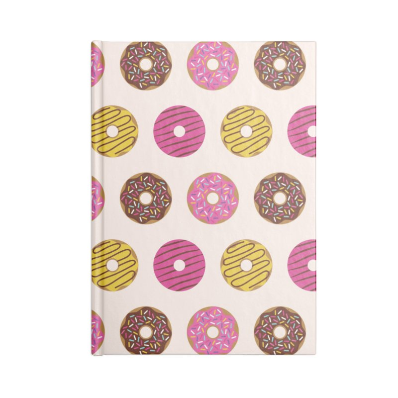 Sweet Donuts Pattern Accessories Notebook by abstractocreate's Artist Shop