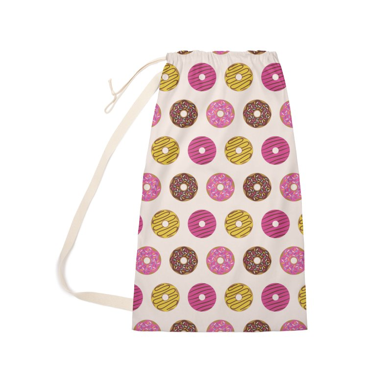 Sweet Donuts Pattern Accessories Laundry Bag Bag by abstractocreate's Artist Shop