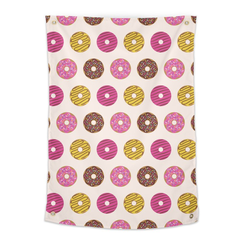 Sweet Donuts Pattern Home Tapestry by abstractocreate's Artist Shop
