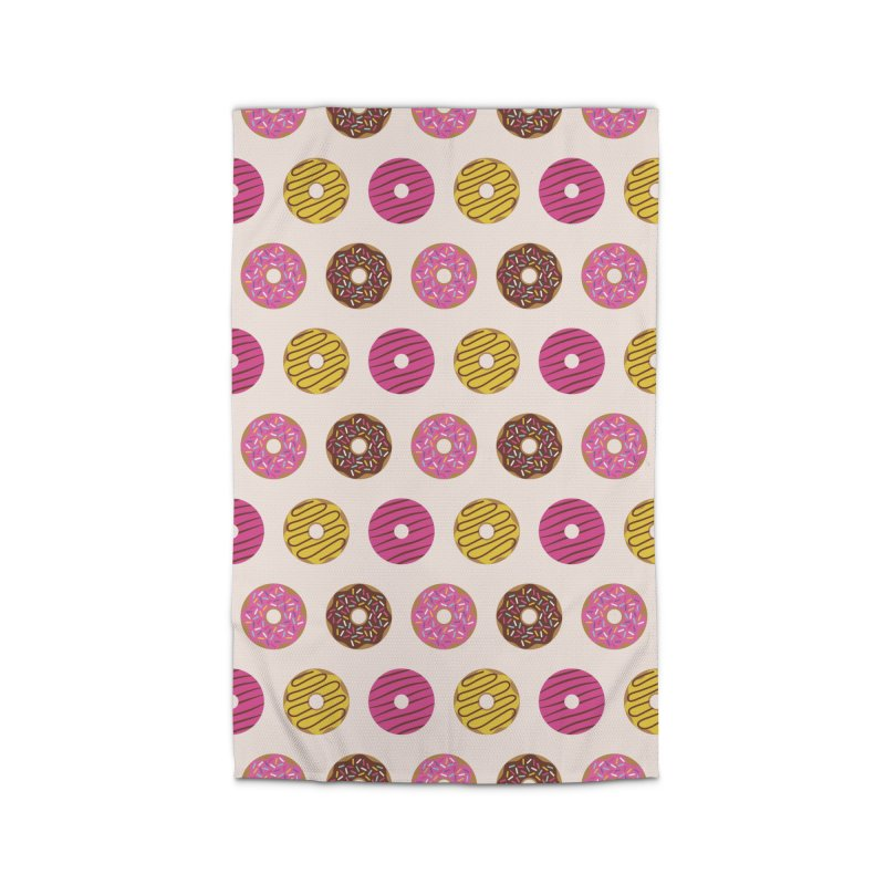 Sweet Donuts Pattern Home Rug by abstractocreate's Artist Shop