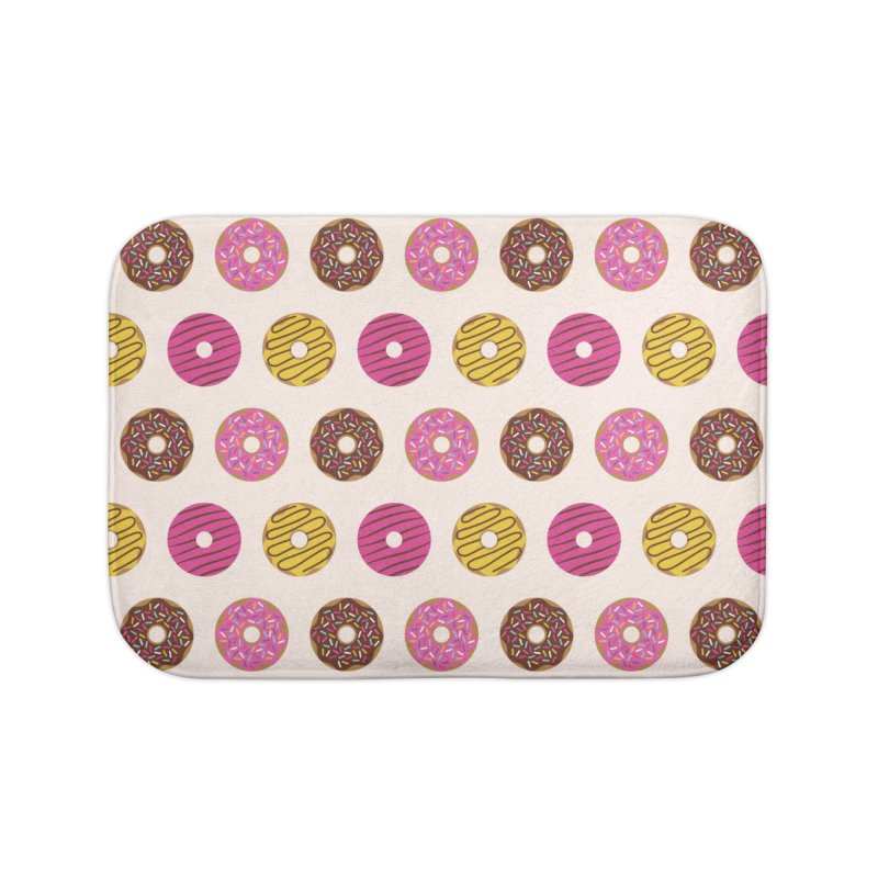 Sweet Donuts Pattern in Bath Mat by abstractocreate's Artist Shop