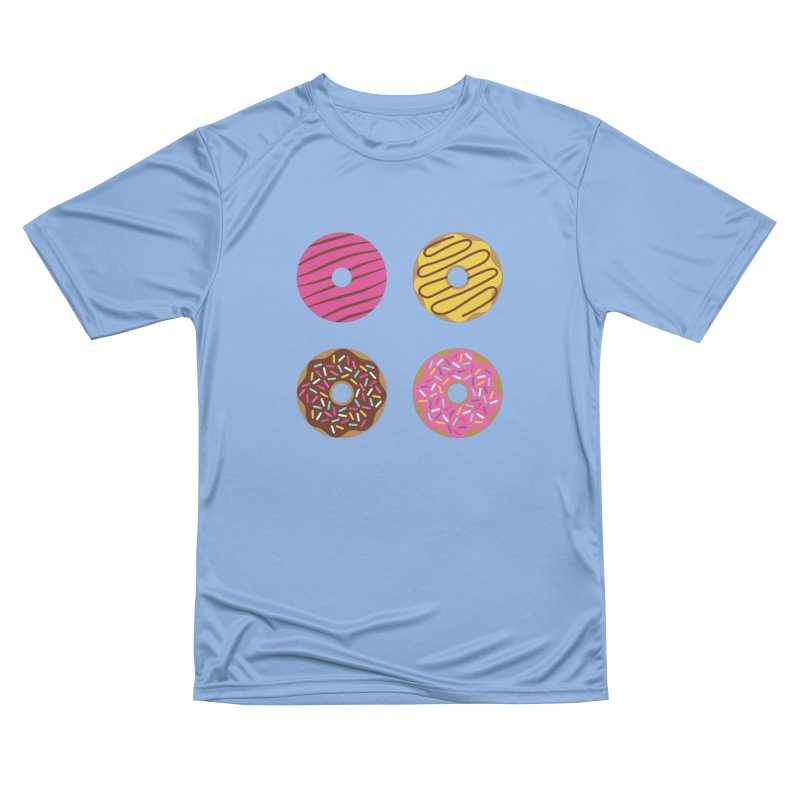 Sweet Donuts Pattern Women's T-Shirt by abstractocreate's Artist Shop