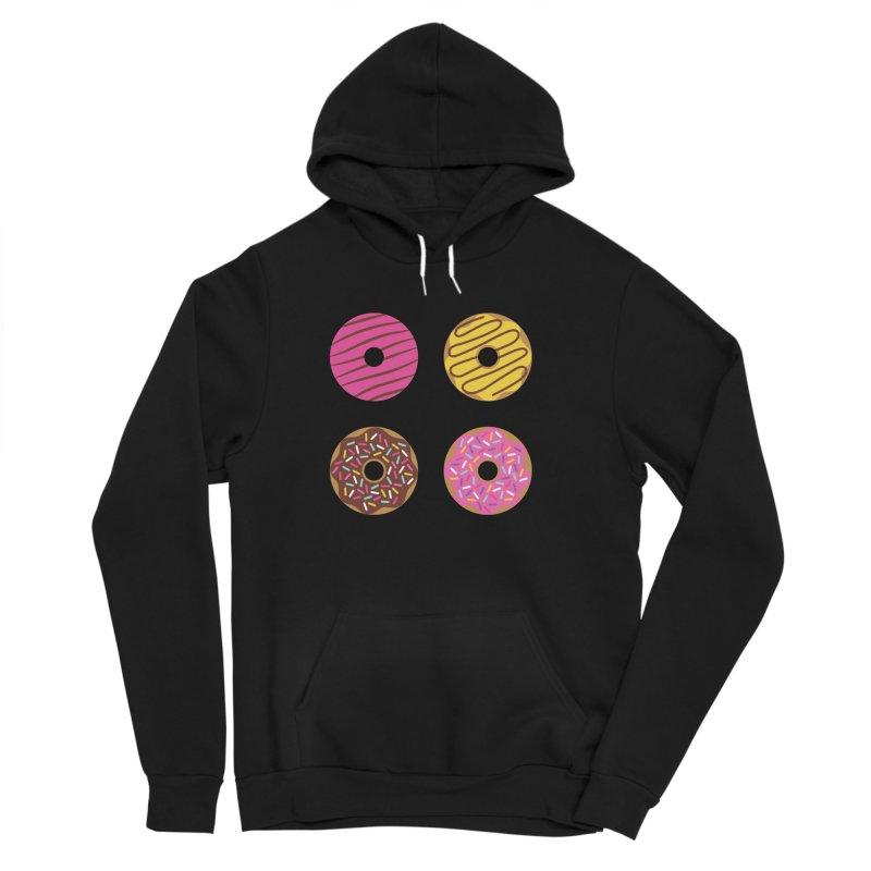 Sweet Donuts Pattern Women's Sponge Fleece Pullover Hoody by abstractocreate's Artist Shop