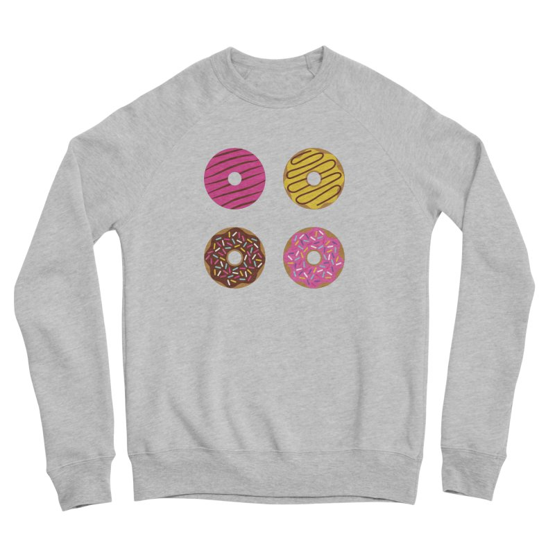 Sweet Donuts Pattern Women's Sponge Fleece Sweatshirt by abstractocreate's Artist Shop