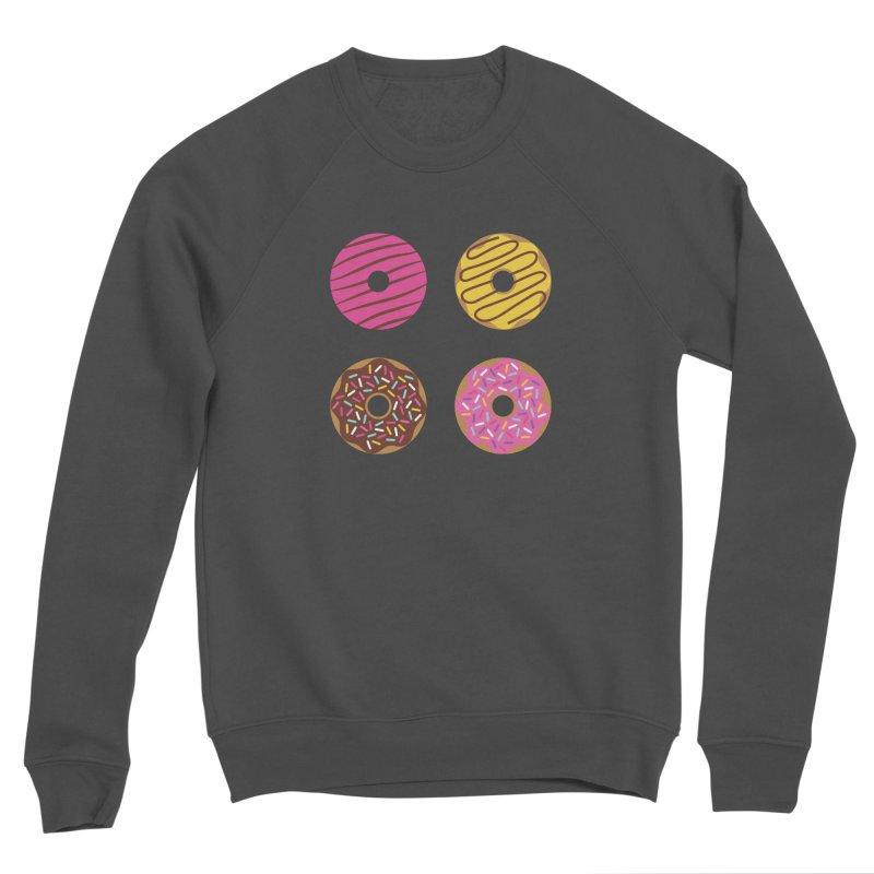 Sweet Donuts Pattern Women's Sponge Fleece Sweatshirt by abstractocreate's Artist Shop