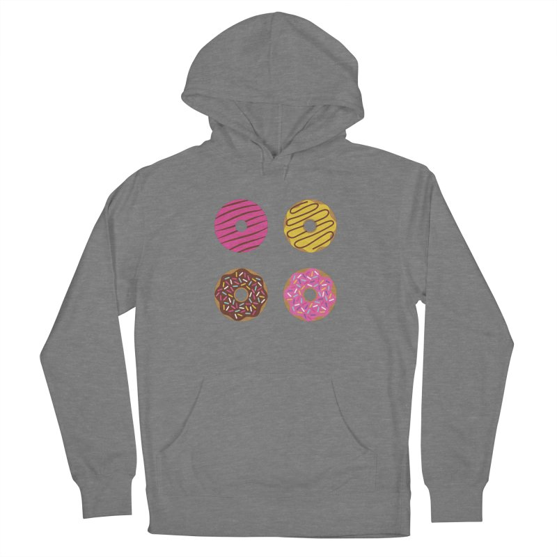 Sweet Donuts Pattern Men's French Terry Pullover Hoody by abstractocreate's Artist Shop