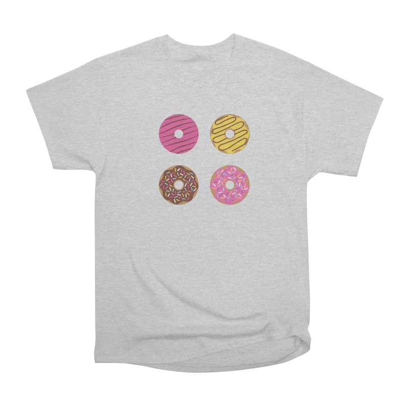 Sweet Donuts Pattern Men's T-Shirt by abstractocreate's Artist Shop