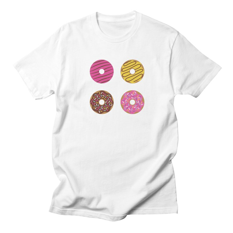 Sweet Donuts Pattern Men's Regular T-Shirt by abstractocreate's Artist Shop