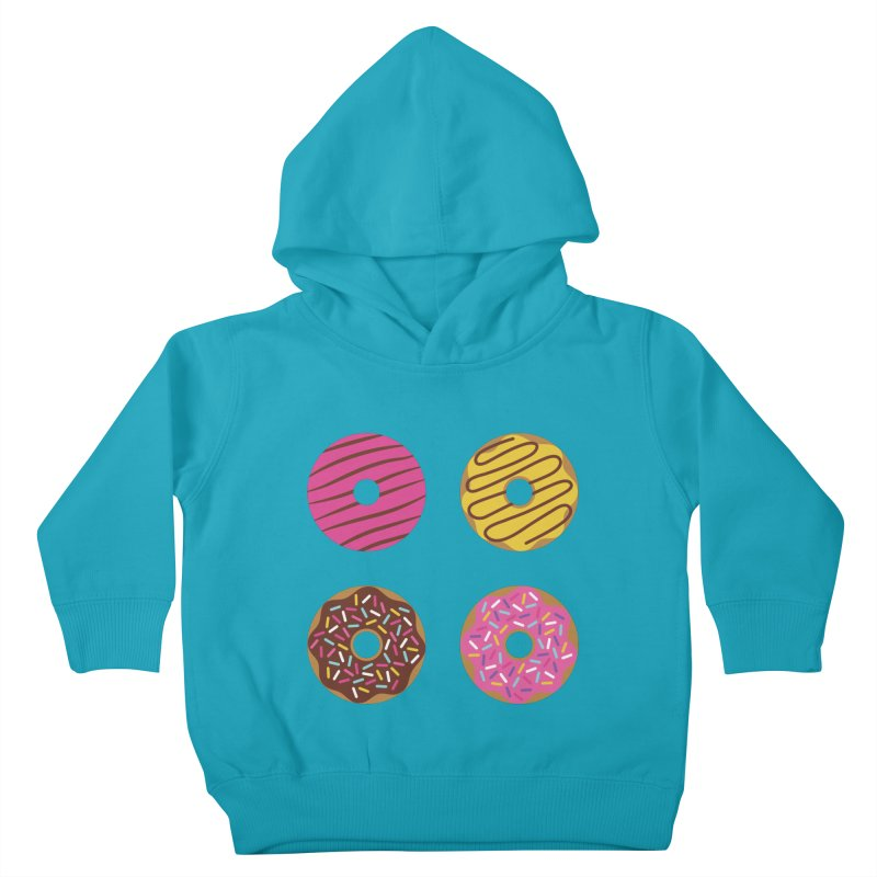 Sweet Donuts Pattern Kids Toddler Pullover Hoody by abstractocreate's Artist Shop
