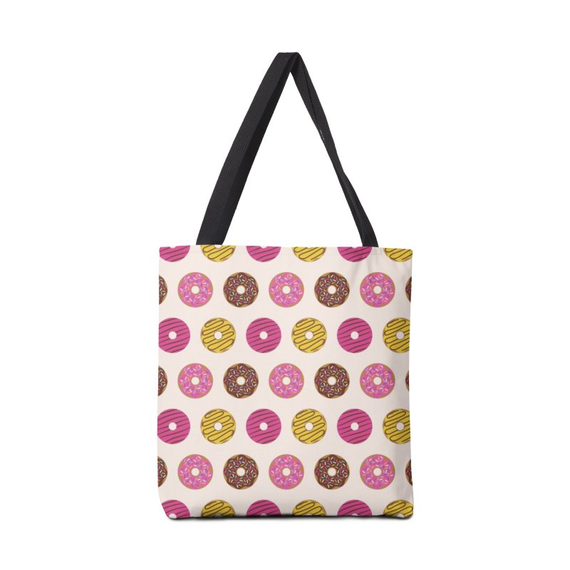 Sweet Donuts Pattern Accessories Tote Bag Bag by abstractocreate's Artist Shop
