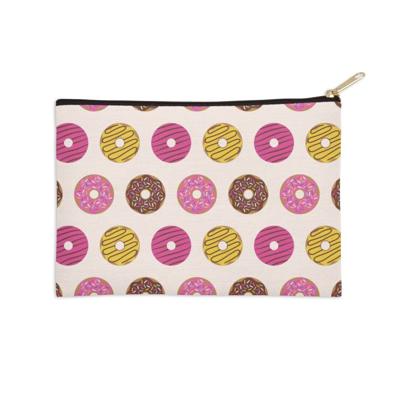 Sweet Donuts Pattern Accessories Zip Pouch by abstractocreate's Artist Shop