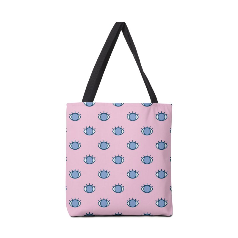 Blue Eyes Pattern Accessories Tote Bag Bag by abstractocreate's Artist Shop