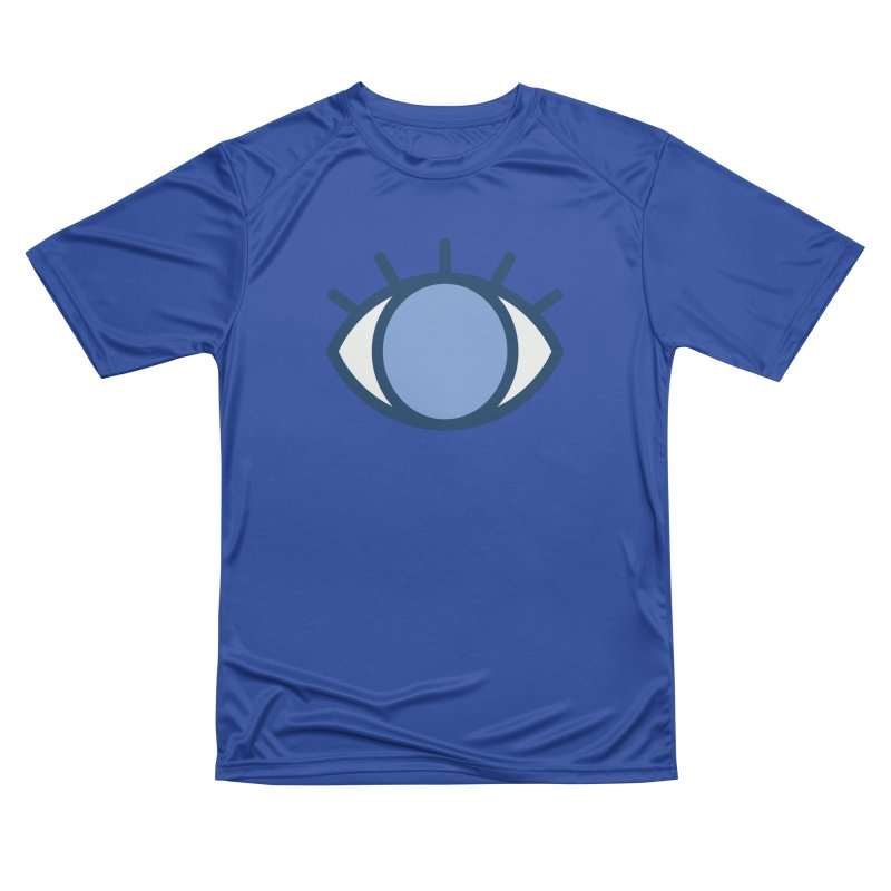 Blue Eyes Pattern Men's Performance T-Shirt by abstractocreate's Artist Shop