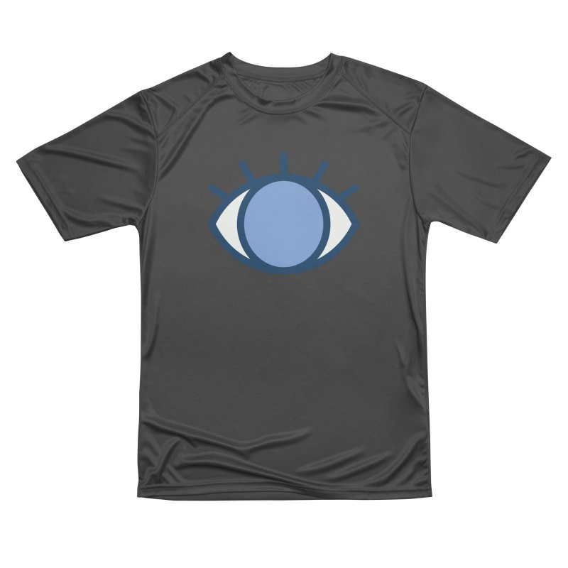 Blue Eyes Pattern Women's Performance Unisex T-Shirt by abstractocreate's Artist Shop
