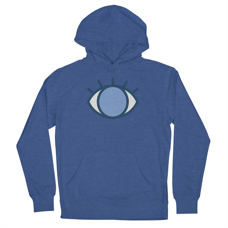 Blue Eyes Pattern Men's Pullover Hoody by abstractocreate's Artist Shop