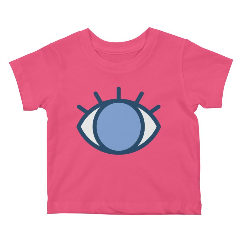 Blue Eyes Pattern Kids Baby T-Shirt by abstractocreate's Artist Shop