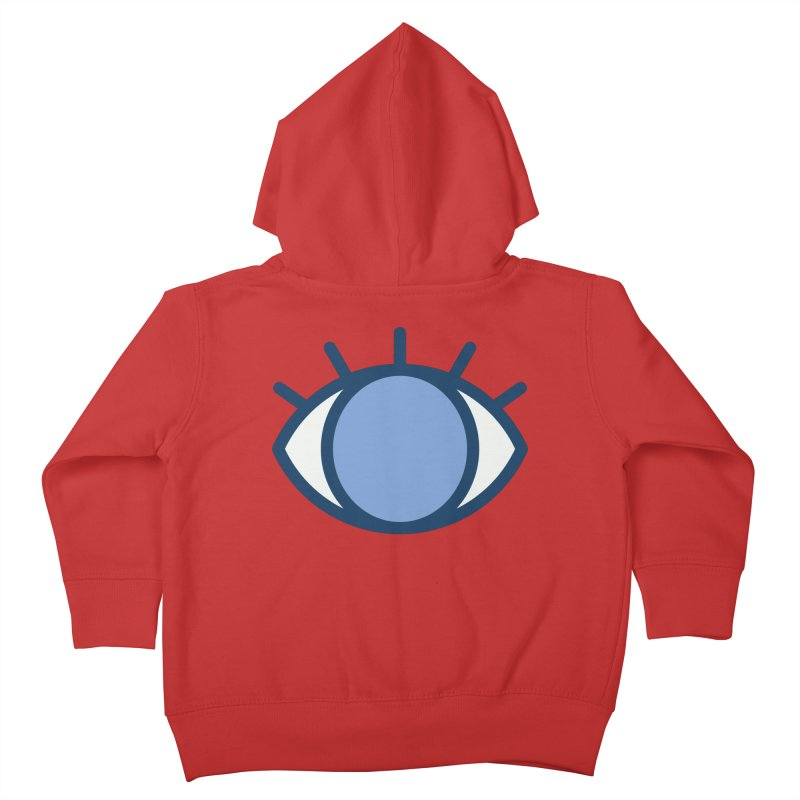 Blue Eyes Pattern Kids Toddler Zip-Up Hoody by abstractocreate's Artist Shop