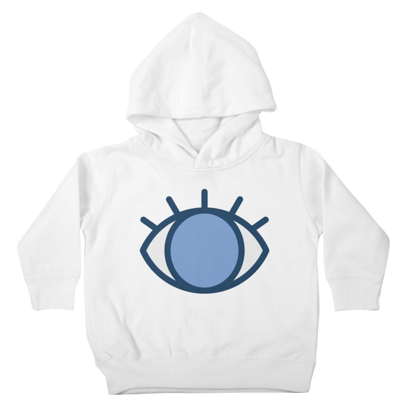 Blue Eyes Pattern Kids Toddler Pullover Hoody by abstractocreate's Artist Shop