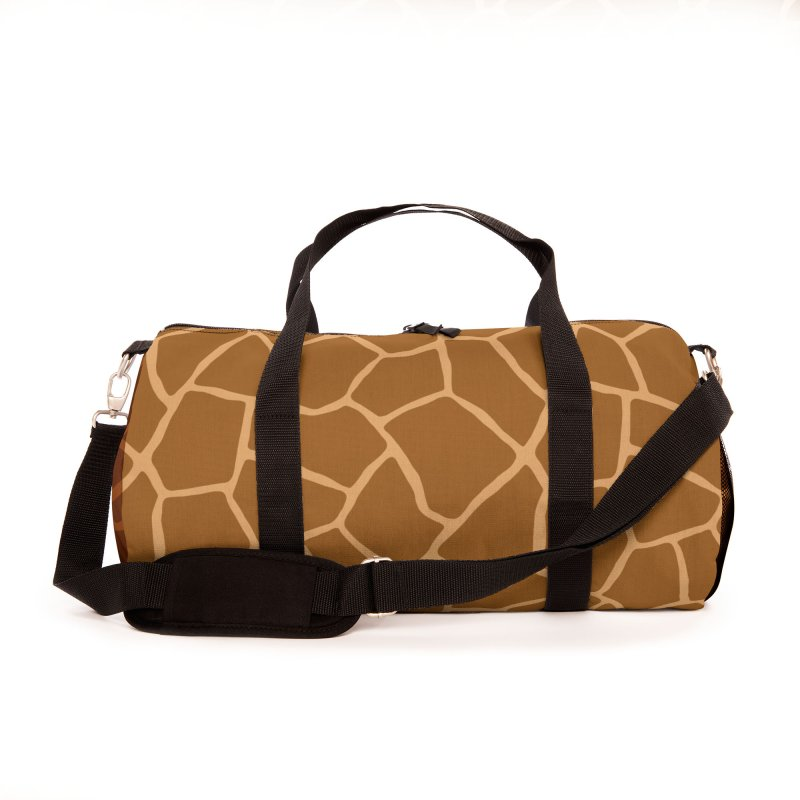 Giraffe Animal Print Accessories Bag by abstractocreate's Artist Shop