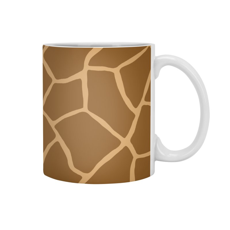 Giraffe Animal Print Accessories Mug by abstractocreate's Artist Shop