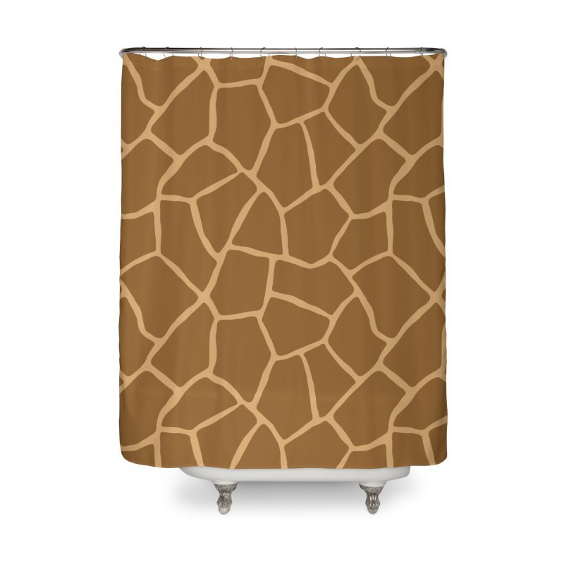 Giraffe Animal Print Home Shower Curtain by abstractocreate's Artist Shop