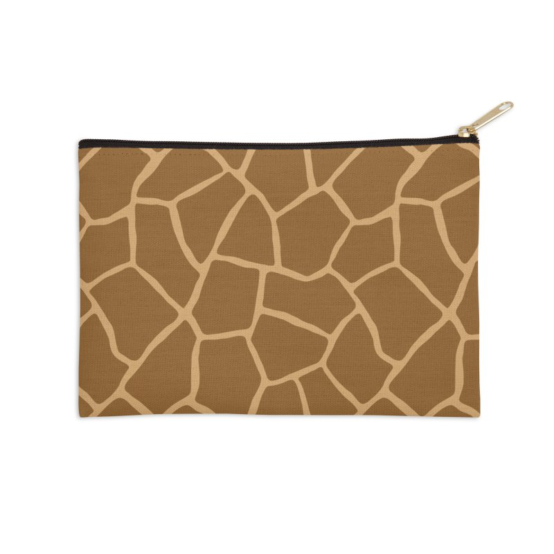 Giraffe Animal Print Accessories Zip Pouch by abstractocreate's Artist Shop