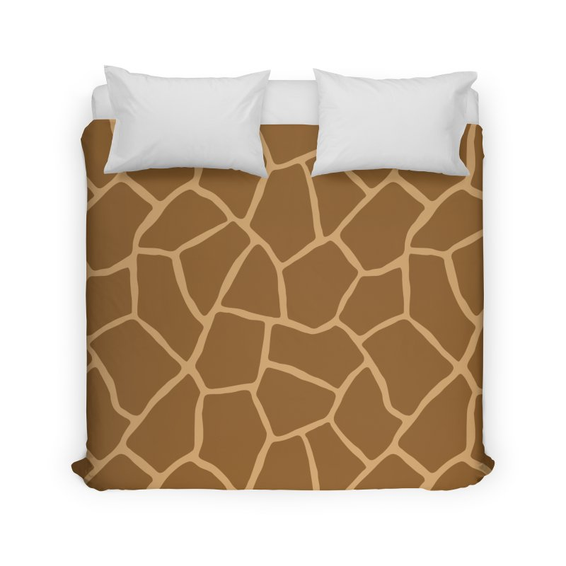 Giraffe Animal Print Home Duvet by abstractocreate's Artist Shop