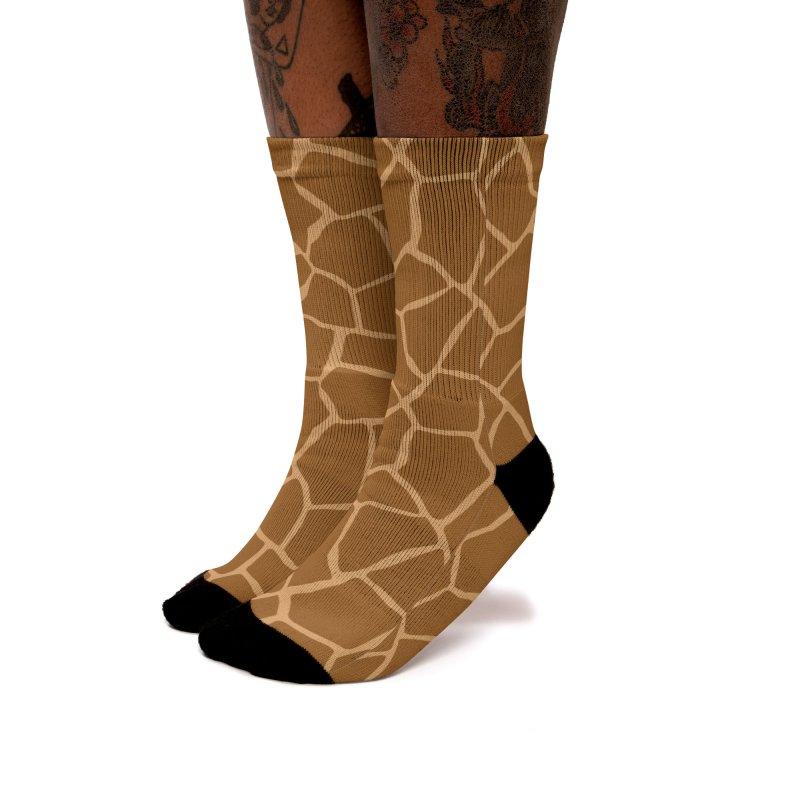 Giraffe Animal Print Women's Socks by abstractocreate's Artist Shop