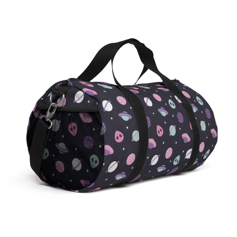 UFO & Planets Patterns Accessories Bag by abstractocreate's Artist Shop