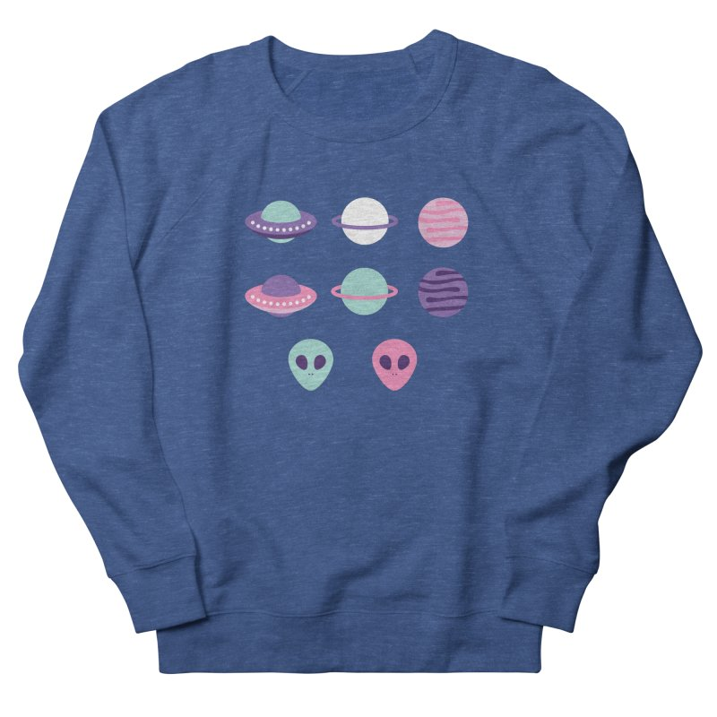 UFO & Planets Patterns Men's Sweatshirt by abstractocreate's Artist Shop
