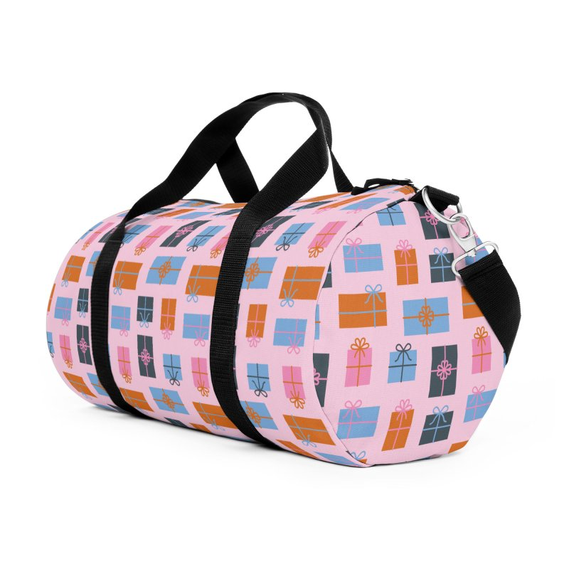 Christmas Gifts Pattern Accessories Bag by abstractocreate's Artist Shop
