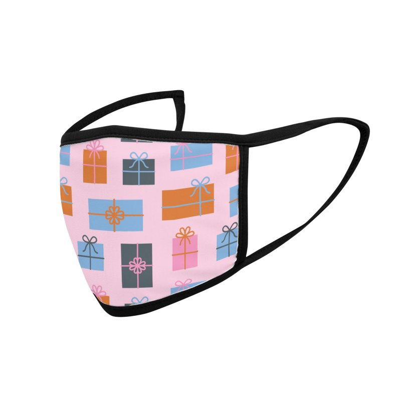 Christmas Gifts Pattern Accessories Face Mask by abstractocreate's Artist Shop