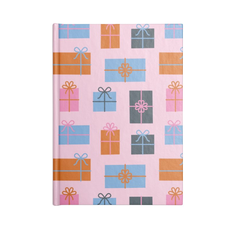 Christmas Gifts Pattern Accessories Notebook by abstractocreate's Artist Shop