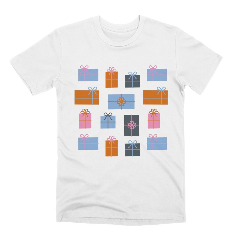 Christmas Gifts Pattern Men's T-Shirt by abstractocreate's Artist Shop